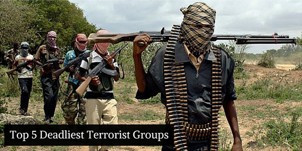 IRIA Report - Top 5 Deadliest Terrorist Groups