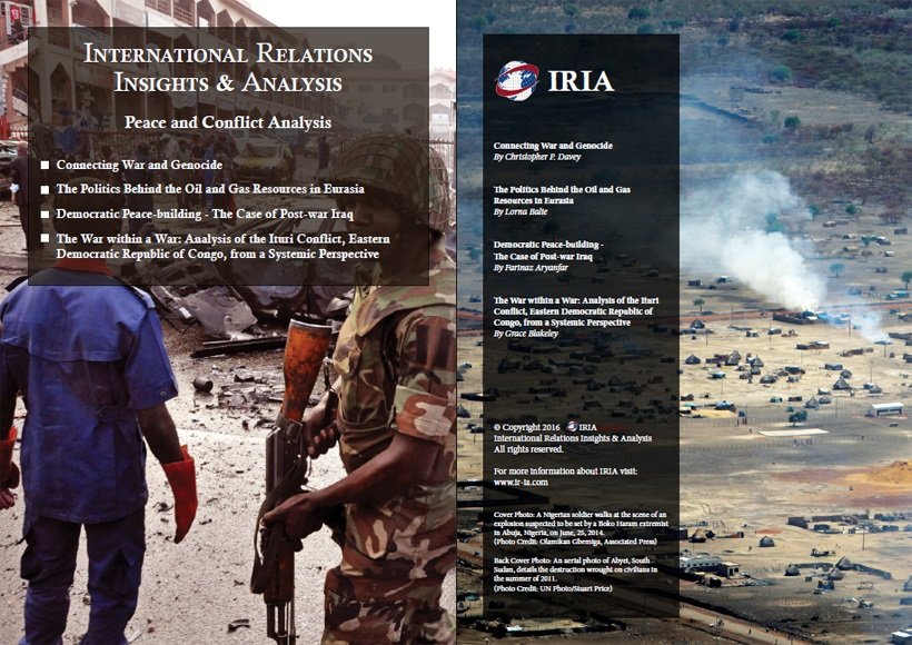 an overview of peace and conflict Institute of continuing education  course search overview peace, conflict and  if you have ever wondered why peace is so elusive and conflict so.