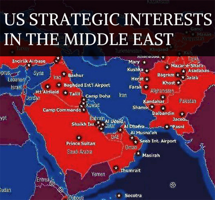 Why Does The US Pay So Much Foreign Policy Attention To The Middle - Map of us bases in the middle east